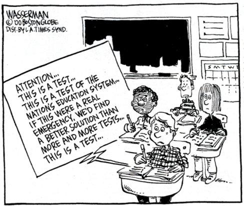my war with standardized testing essay