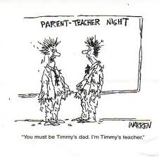 Timmy's Dad and Tchr