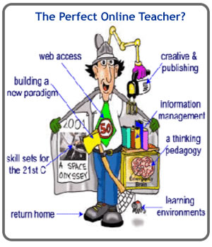 Overwhelmed Teacher Cartoon