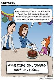 B-day of lawyer kid