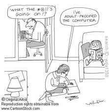 adult-proofed computer