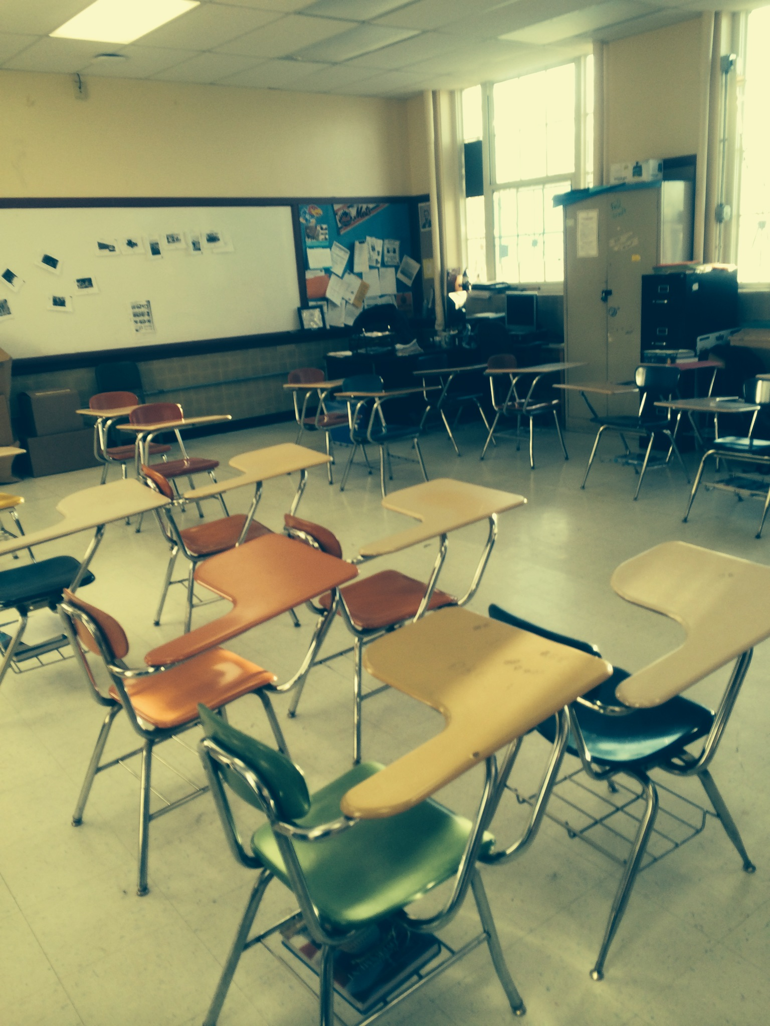 Arranging Classroom Furniture An Unobtrusive Glimpse Into