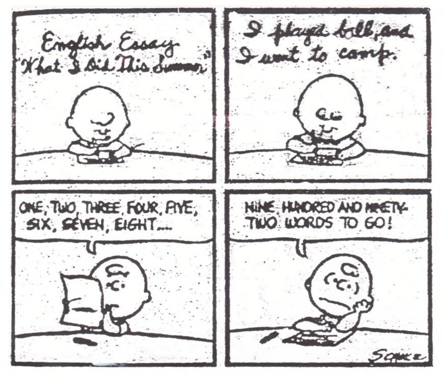 Peanuts_Essay