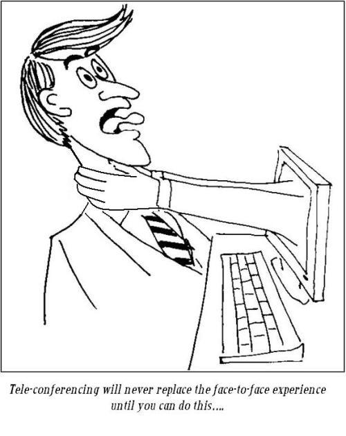Telepresencing