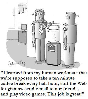 workrobotcartoon