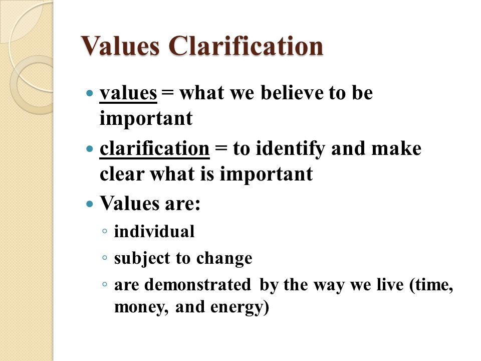 Elementary Classroom Ideas ~ Whatever happened to values clarification larry cuban